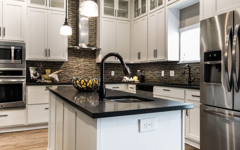 Open Kitchen in Phase I Townhome at Village at Commonwealth