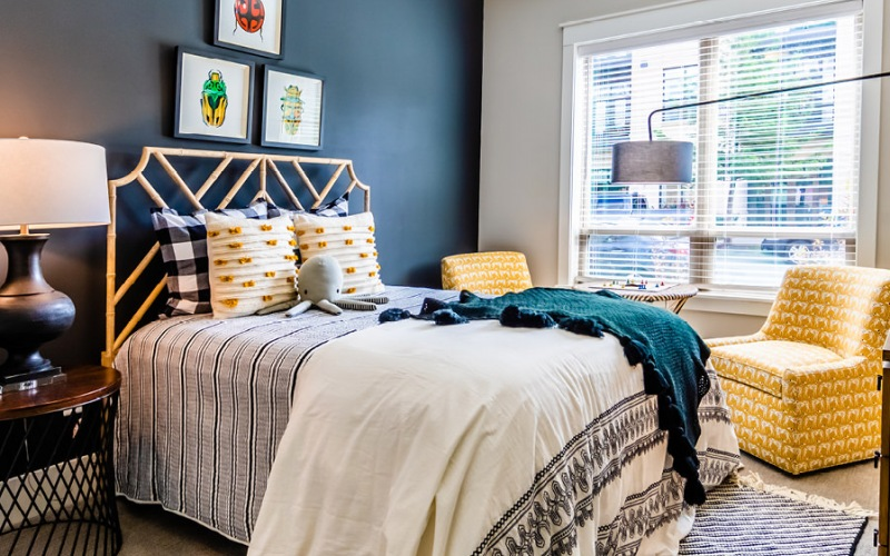 Phase II Bedroom at Village at Commonwealth