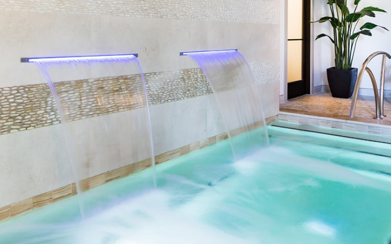 Indoor Jacuzzi at Village at Commonwealth